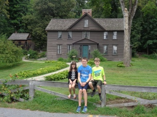 Orchard House, home of Louisa May Alcott.